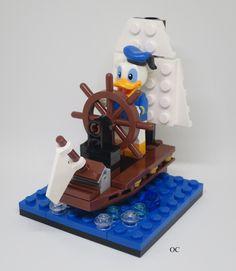 Lego Donald Duck Minifigures Vignette 8x8