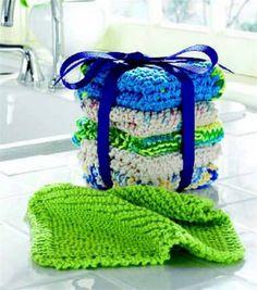 The Best Easy Dishcloth Crochet Pattern http://www.craftdrawer.com/2012/06/best-easy-dishcloth-crochet-pattern.html