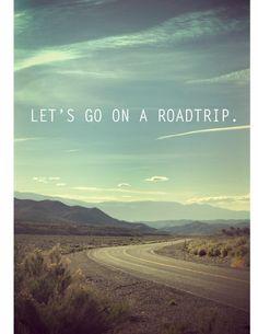 Roadtrip....need one