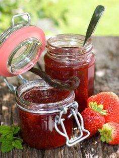 confiture de fraise chef simon