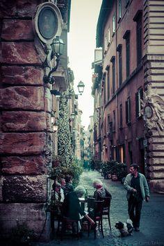 Rome streets... Roma, Italy by Eren Tekin