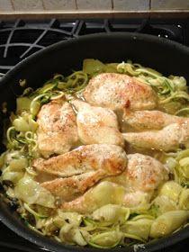 PALEO DIET JOURNEY: Chicken Piccata