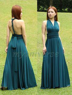 Full Length Infinity Dress