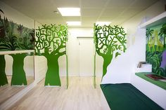 Bogstavtræer til børnehave - designbykalledesignbykalle