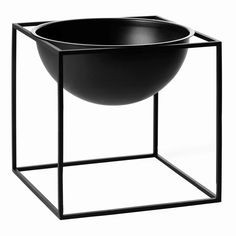 By Lassen Kubus kulho, iso, poltettu kupari Scandinavian Bowls, Scandinavian Design, Richmond Homes, Aesthetic Objects, Black Bowl, Steel Metal, Danish Design, Online Furniture, Furniture Stores