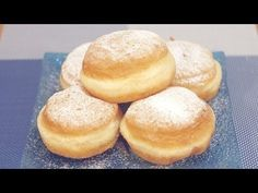 Krofne recept - Donut - Krapfen - YouTube