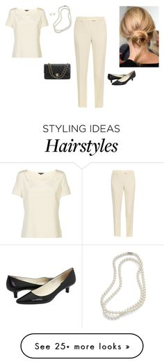 """""""Untitled #323"""" by inlateautumn on Polyvore featuring Brooks Brothers, St. John, Christopher Kane, Blue Nile, Michael Kors, Chanel and Calvin Klein"""