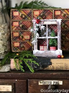 One Lucky Day: Christmas Window Box
