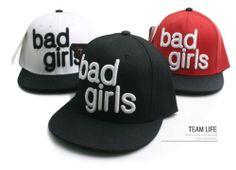 TEAMLIFE FLAT CAP BAD GIRLS SNAPBACK HAT  STREET FASHION HIPHOP BASEBALL CAPS