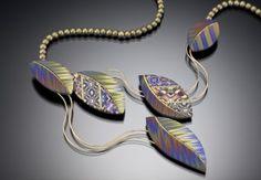 Sandra McCaw's polymer clay jewelry