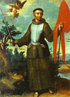 The saint of the day for October 23 is St. John of Capistrano, a great Franciscan priest, preacher, and theologian. John was born at . Catholic Online, Catholic News, Catholic Priest, Catholic Saints, Patron Saints, Roman Catholic, Catholic Theology, San Juan Capistrano, Celestial