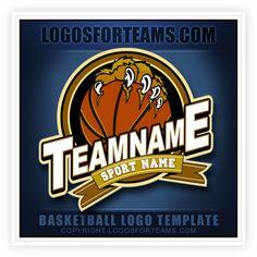 Basketball Logo Template S1