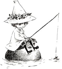 Snufkin. One of my all-time favourite characters.