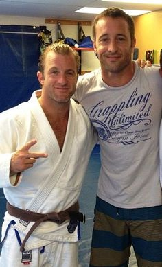 Alex & Scott at BJJ