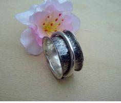 Inel handmade (spinner ring)  argint 925 TDR-70