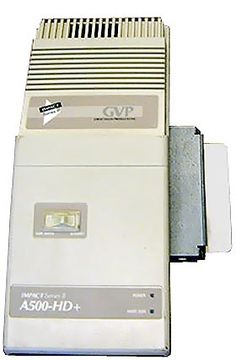 My first harddrive was one of these for my Amiga 500, it was 1 gigabyte, and cost $700. I plugged the molex connector inverted, the 12 and 5 volt lines were reversed, and fried it out of the box. Luckily my good friend Todd replaced a $5 part and restored it. -M.Showalter