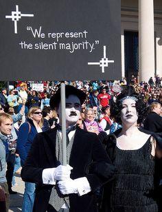 we represent the silent majority
