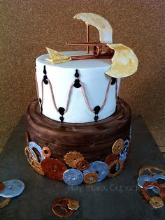 Da Vinci | Cake Artistry by Stevi Auble - Hey There Cupcake!