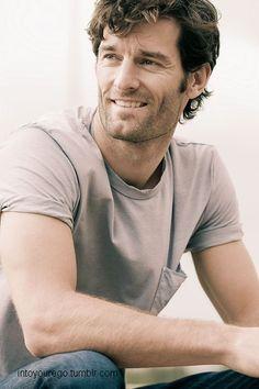Mark Webber, race car driver from Australia Mark Webber, F1 Drivers, Thats The Way, Car And Driver, Interesting Faces, Formula One, Gorgeous Men, Role Models, Race Cars