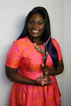 Danielle Brooks Has Purple Hair And It Looks Even Better Than Taystee's Awesome Curls On 'Orange Is The New Black'