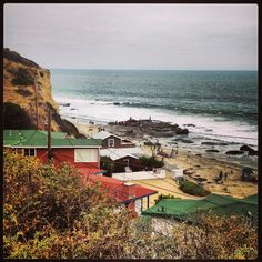 Crystal Cove State Park in California - go back in time