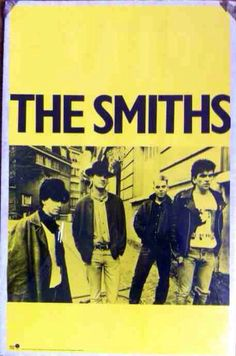 The Smiths (Morrissey) Rare Promo Vintage Poster rough trade and sire records + FREE bonus badge on Etsy, $125.00