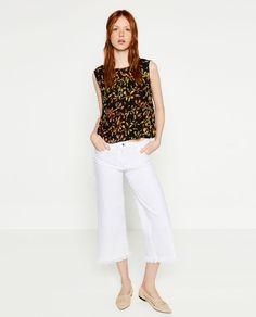 Image 1 of BATIK PRINTED TOP from Zara