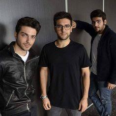 Repost ilvoloversitaofficial  I ragazzi durante lo shooting per #diarioshow  #ilvolovers #ilvolo #ilvolomusic #PieroBarone #gianlucaginoble #ignazioboschetto #NottaMagica