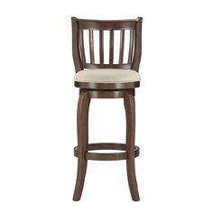 Tribecca Home Ali Modern Linen 29-inch Bar Stool Swivel (Beige Linen) (Wood)