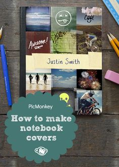 Smart up the school year with our ideas on making back-to-school DIY notebook covers