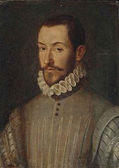 François Clouet, Portrait de Gaspard de Coligny