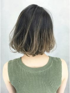 Subtle blonde highlights on a messy black bob New Haircuts, Easy Hairstyles, Subtle Blonde Highlights, Goddess Locks, Hair Arrange, Hair Images, Flawless Makeup, About Hair, Cut And Color