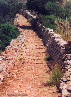 Camí medieval a santa àgueda. Menorca