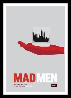 Quadro Poster Series Mad Men 10 - Comprar em Decor10