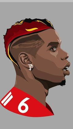 Paul Pogba w wersji rysunkowej Manchester United Paul Pogba Manchester United, Manchester United Players, Messi Soccer, Soccer Memes, Pogba Wallpapers, Manchester United Wallpaper, Soccer Art, Fifa Football, Football Wallpaper