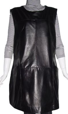 Paccilo 4028 Leather Dress Women Expensive Fabric Lining