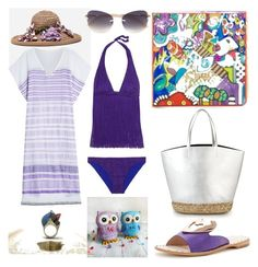 """#GreekSummer"" by harikleiatsirka on Polyvore featuring Ivy Kirzhner, Missoni, Dolce&Gabbana, Lemlem and Cartier"