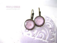 Lavender Pink  FREE SHIPPING  tiny by PerleVanigliaDesigns on Etsy