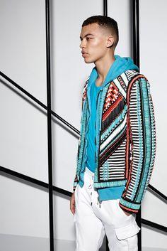 http://www.beadshop.com.br/?utm_source=pinterest&utm_medium=pint&partner=pin13 homem roupas pedrarias  Spring 2015 Menswear - Balmain