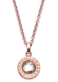 Halskette, »matrix roségold klein, 015567«, Jewels by Leonardo