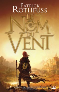 Marc Simonetti's cover for the French edition of Patrick Rothfuss' The Name of the Wind