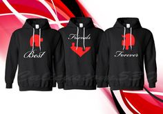 amazing matching hoodies for best friends
