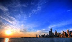 Chicago lakefront.  one of my favorite cities :)