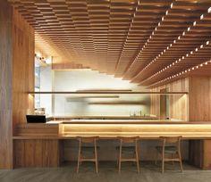 Restaurant in Shanghai, China designed by Tsutsumi & Associates