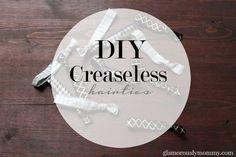 Save your money and find out how to make your own DIY Creaseless Hair Ties on GlamorouslyMommy.com #DIY