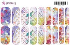 Mosaic Nails- Are you artistic? Design your own nail wraps at the Online Jamberry Nail Art Studio! Click on picture to take you to the studio to design your own.