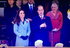 William and Kate at the Wales v Australia - November 8th 2014.