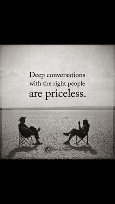 Right things happens with right person...a good listener!