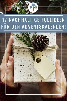 17 sustainable filling ideas for the advent calendar! - Green Miracle 17 sustainable filling ideas for the advent calendar! Best Christmas Gifts, Christmas Fun, Holiday Gifts, Holiday Fun, Best Friend Gifts, Gifts For Friends, Best Gifts, Happy Birthday Boyfriend, Xmas Presents