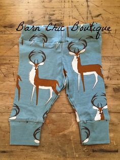 MilkBarn Baby Leggings in Buck